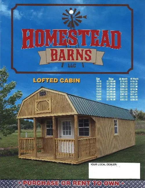 Homestead Barns