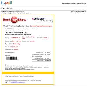 Gmail Printer Friendly Email