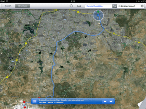 iPad Find Location Route