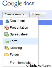 Create New Google Docs