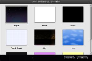 Choose Theme Presentation