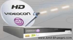 Videocon 3D HD DVR Setup