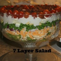 7 Layer Salad Recipe