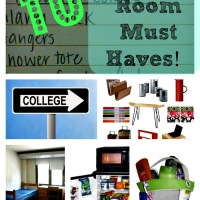List Of 10 Dorm Room Essentials & Checklist