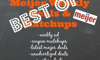 Meijer Best Deals For 10/23-10/29