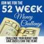 52 Week Money Challenge -Join the Weekly Challenge