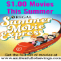 Summer Movies Just $1.00 in Mid-Michigan