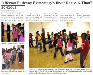 Dance A Thon Article
