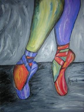 Dancin Feet by Amity Word