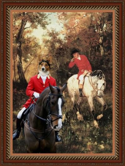 nobility dog prints