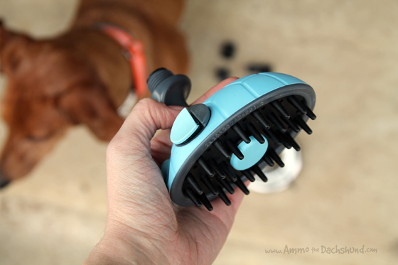 MIU Pet Shower and Massager in one + A Giveaway