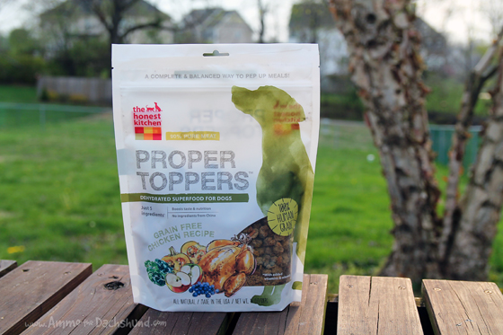 A Proper Topper for Pet Food + A Giveaway from The Honest Kitchen