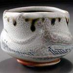 Salmon Tea Bowl