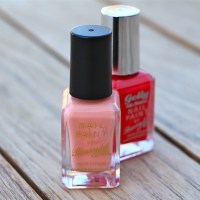 Bargain Holiday Nails: Barry M's Peach Melba