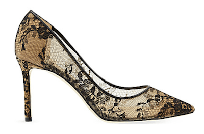 jimmy choo romy lace courts