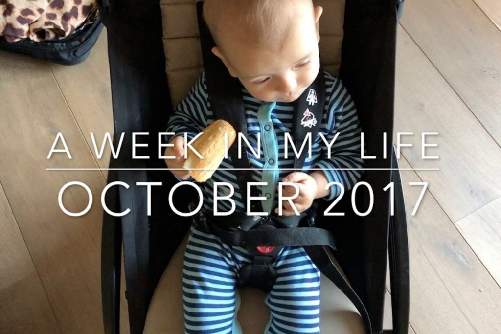 a week in my life october 2017