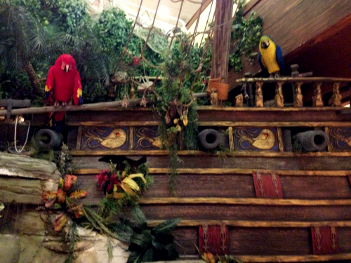 Castaway Bay pirate ship