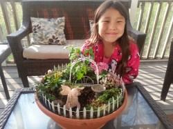 Indulging Summer Balcony Herb Garden Kit Balcony Kitchen Garden Fairy Garden A Year A Fairy Garden Abcs Lily
