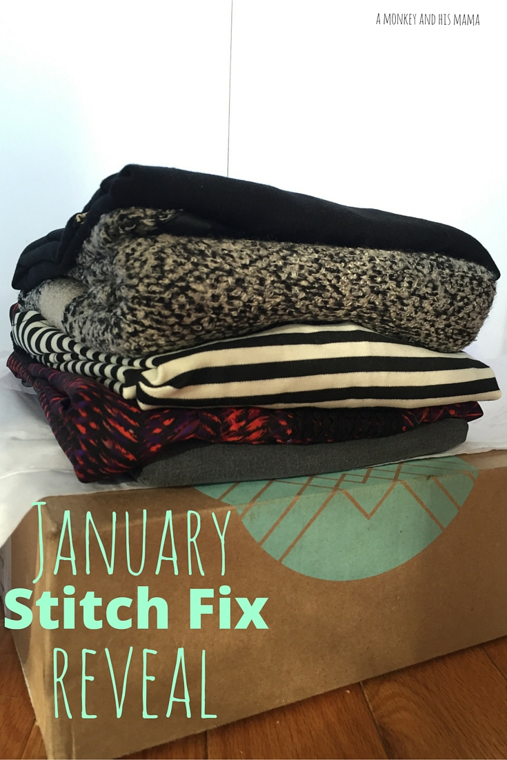 January 2016 Stitch Fix Reveal // a monkey and his mama