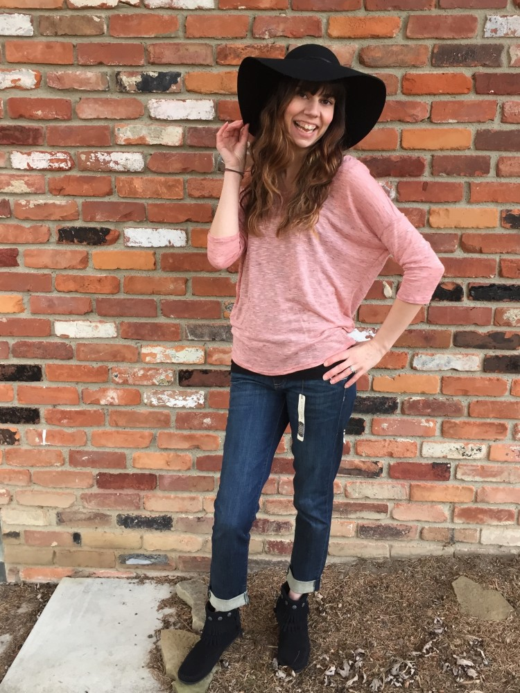 Carlitos Dolman Knit Top, Papermoon. Kate Boyfriend Jeans, Kut from the Kloth. February Stitch Fix // a monkey and his mama