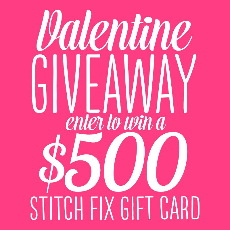 Stitch Fix $500 square pink