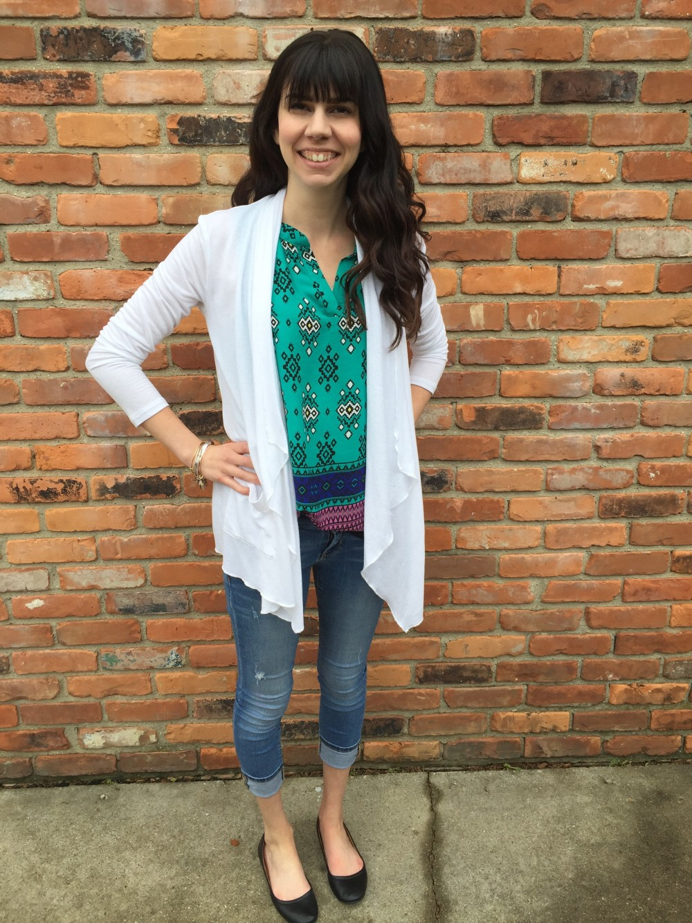 earlson split neck blouse, by sweet rain from my May 2016 Stitch Fix // a monkey and his mama