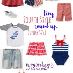 Tiny Fourth Style Round Up, under $25!