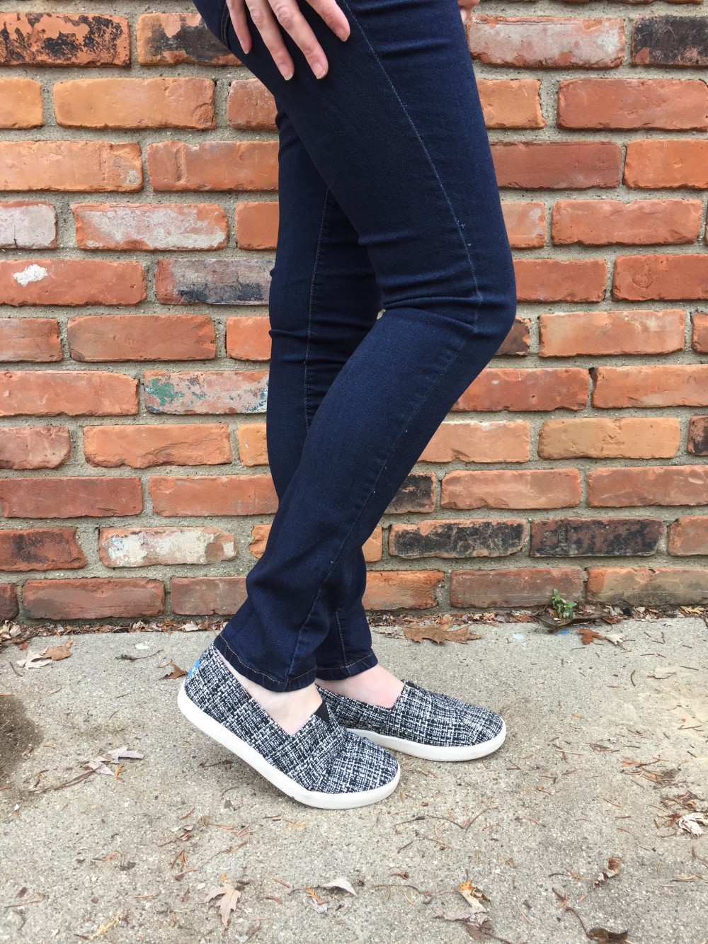 TOMS Avalon Boucle Slip on Sneaker // january stitch fix // a monkey and his mama