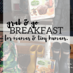 Grab & Go Breakfast for Mamas and Tiny Humans.