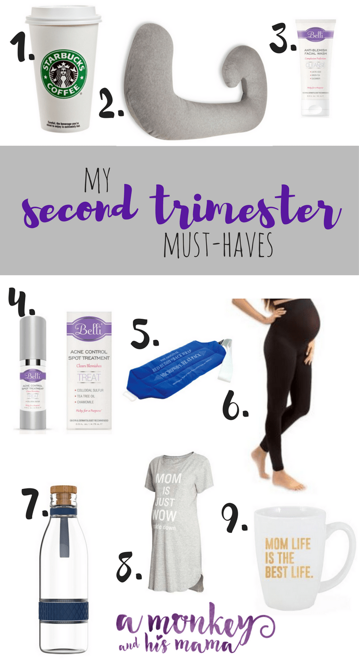 my second trimester must-haves.