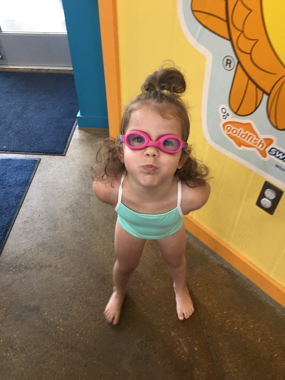 make getting to swim lessons easier
