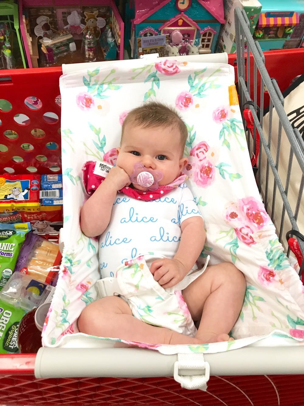 baby grocery cart hammock