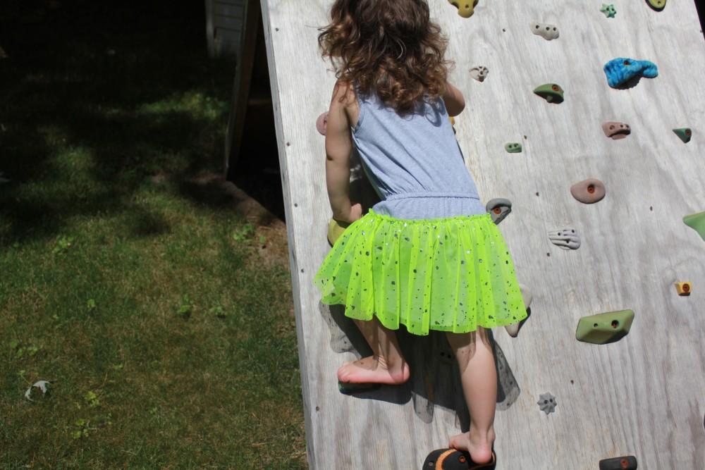 durable girl's dress