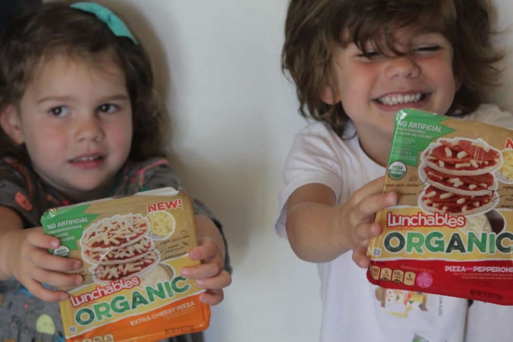 lunchtime with lunchables organic