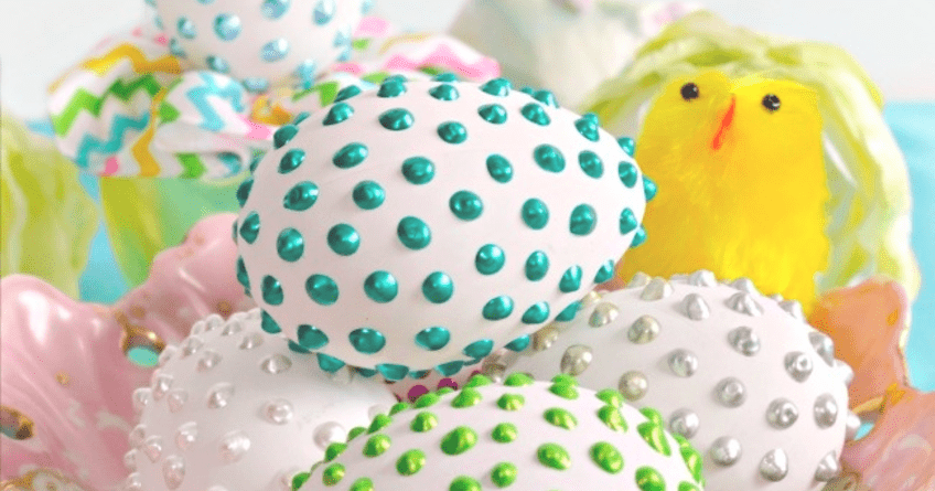 How to Make a Pearly Easter Egg — An Elegant Eastertide Gift