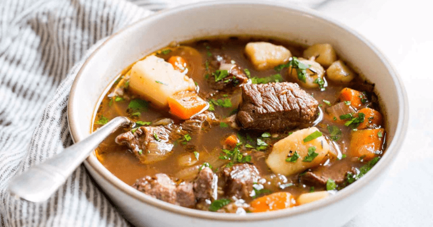 Get Lucky With This Savory Irish Beef Stew Recipe