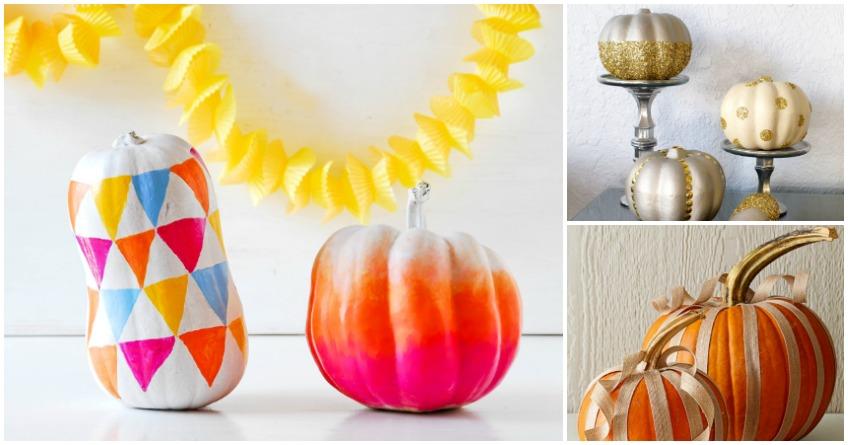 5 Chic Halloween Pumpkin Decorating Ideas