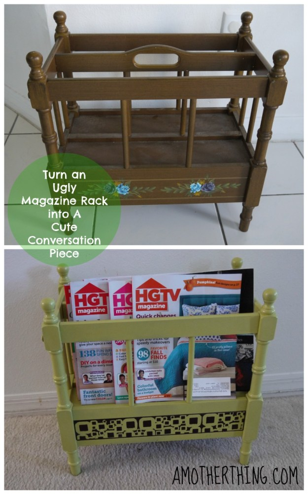Painting a Magazine Rack
