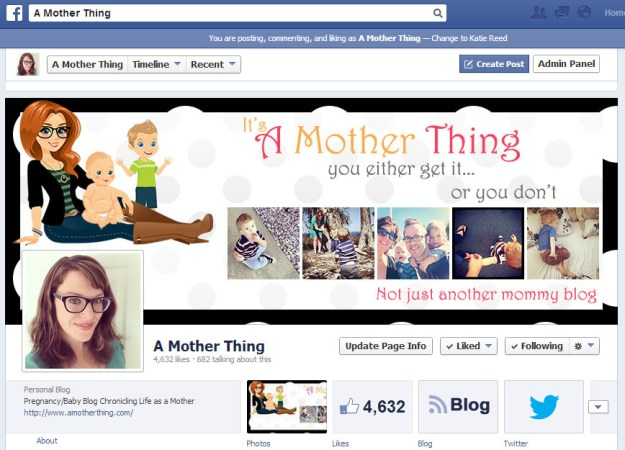 Using Facebook to Promote Your Blog - Use your cover photo to draw readers
