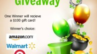 Win a $100 Gift Card #giveaway #freemoney