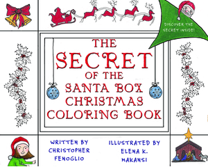 the secret of the santa box coloring book amphorae publishing group