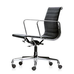 Aluminium Chair EA 117_black_web