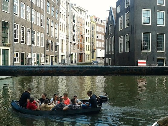 Canal Cruise Red Light District Amsterdam