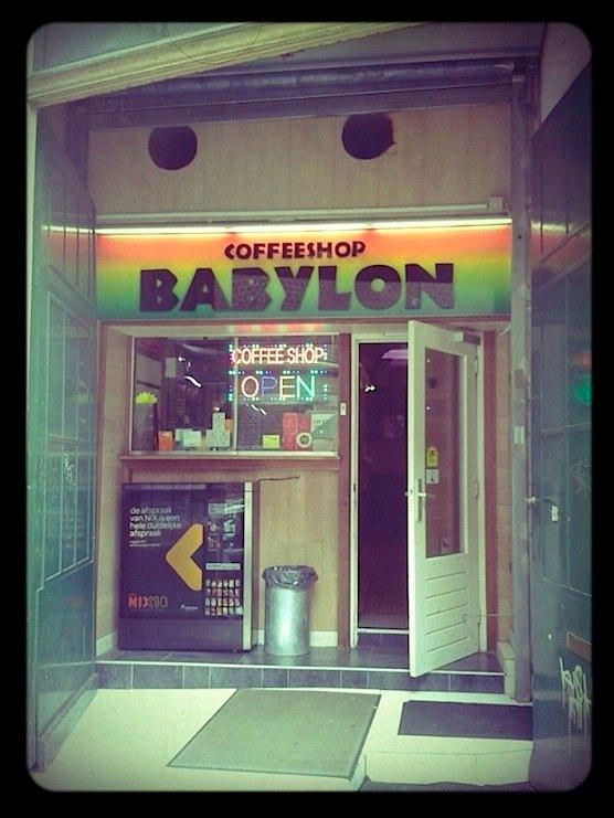 Coffeeshop Babylon In Amsterdam 39 S Red Light District