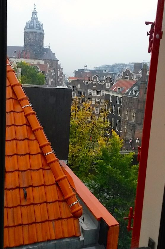 Our Lord in the Attic in Amsterdam Red Light District View