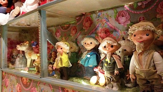 Doll museum in Amsterdam.
