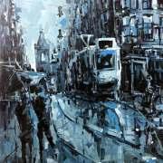 Amsterdam-Souvenir-Art-Painting-Postcards-Leidsestraat-Leidse-Square-small