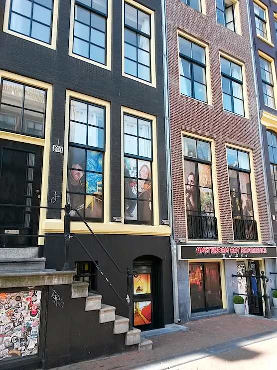 Amsterdam Art Experience In The Red Light District