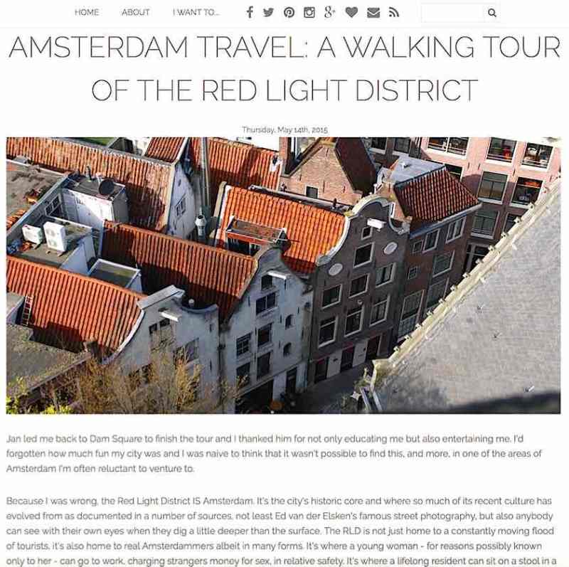 Amsterdam Red Light District Tour Review