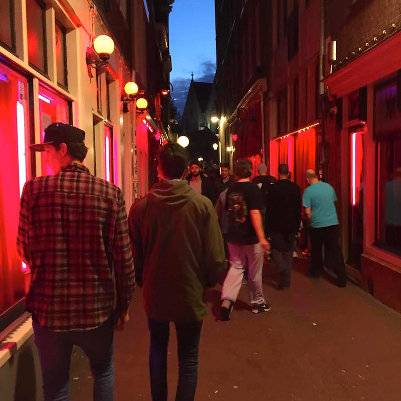 Red Light District Window Brothel Owner Story